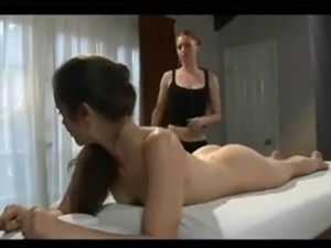 asian lesbian full body massage