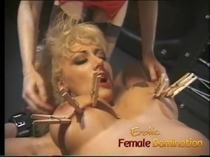licking mistress pussy