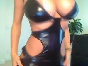 naked girls in latex