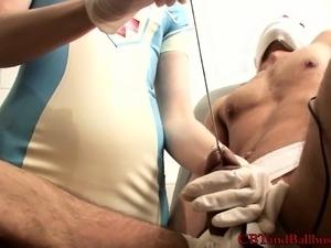 naughty asian nurse blowjob video free