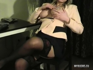 Secretary Stockings Tube