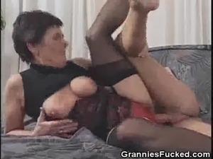 granny black butt