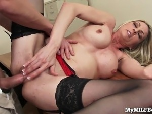 young secretary naked