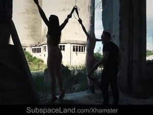 bondage young sex bald pussy