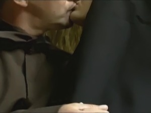 nun porn video bushy cunt