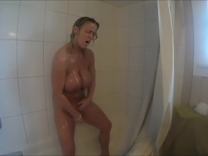 sexy babes in the shower