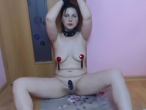 naked girls bondage breasts