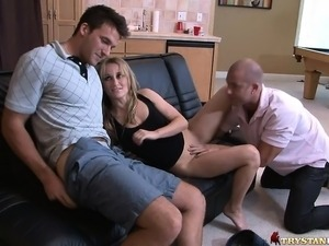 milf seduces young video