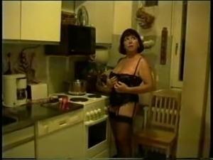 anal sex in kitchen waitress