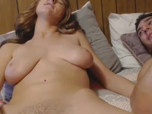 dildo in pussy inflating