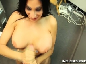 young amateur anal pov