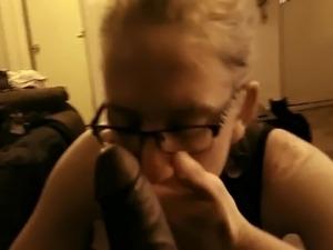 cum eating mature couple video