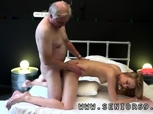 creepy old man fucking young pussy