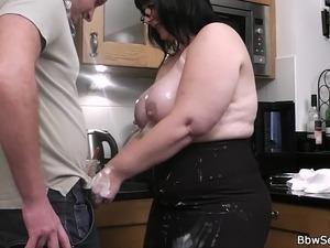 mom in kitchen sex video