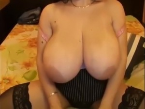 Saggy wife tits