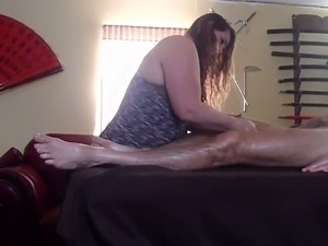 wife massage video