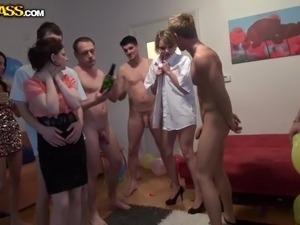 drunk girls on striper party