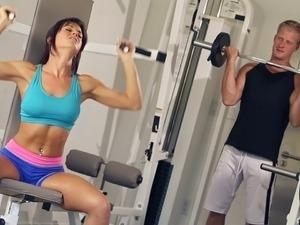 wife erotic gym
