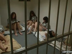 sexy girls having sexy in prison