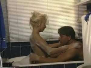 silvia saint rocco anal bathroom threesome