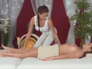 asian lesbian massage voyeur