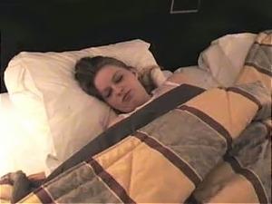Nude sleeping girls
