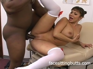 busty mature nurse video