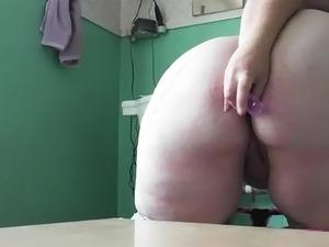 bbw lesbian anal