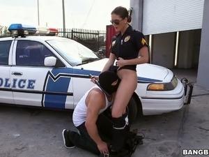 free hardcore porn police video
