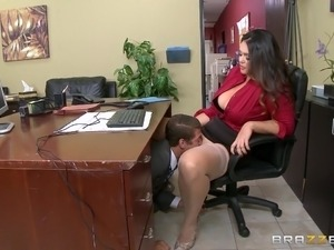 Sizzling interracial office sex porn tube