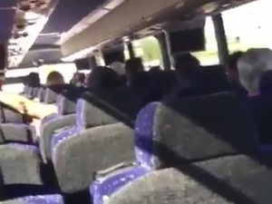 sasha blonde sex in a bus