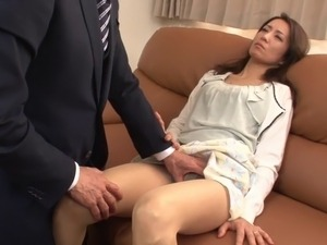 japanese wife forced in front husband