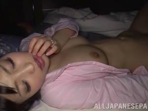 Sleeping exposed nude wife