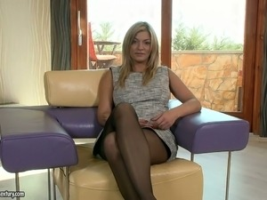 her erotic sexual experience in nylons