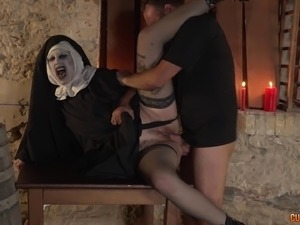 Softcore movie patrica disguised nuns