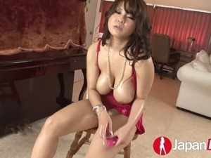 Above busty japanese chick