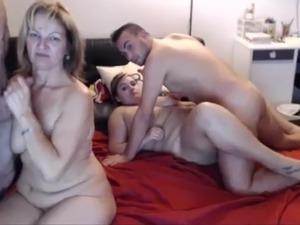 Very free sexy swinger milf video