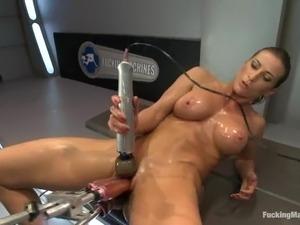 lesbian fuck machine
