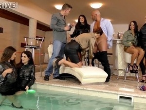 normal married couples pool sex