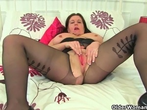 17a62aa54 ... black nylons xxx. Curvy milfs Riona and Jessica Jay wear nylon tights