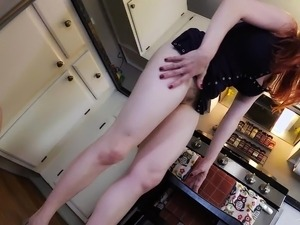 Blonde and redhead lesbian sex
