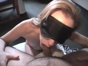 Blindfolded girl switched partner sex videos