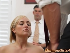 Teen mormon tits anointed