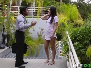 asian babysitter sex