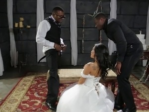 wife dance with black guys