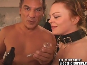 extreme bdsm couple with young girl