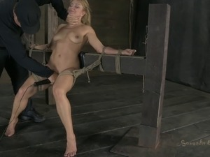 naked girl tied and tortured free
