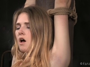 free blonde girl bondage movie