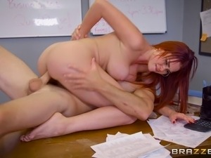 red head mature anal