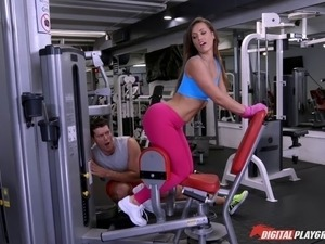 horny gym class blowjob videos